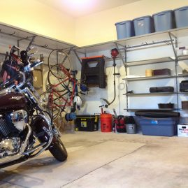 Bridgewater Garage Shelving Motorcycle
