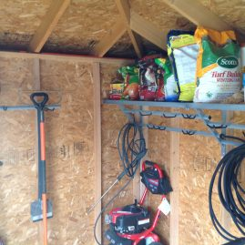 Bridgewater Garage Shelving Tool Rack