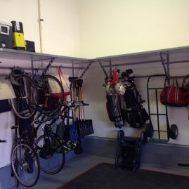 Garage Shelving Bridgewater Bikes and Golf